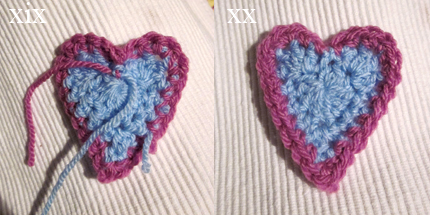 Crochet Heart and Pompom Bunting? - planetpenny.co.uk