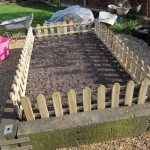 Raised bed for growing