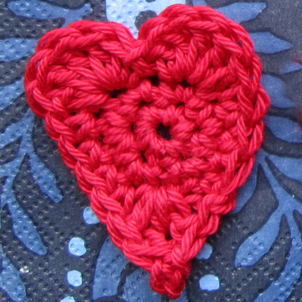 Crochet Pattern Heart : A pattern for a crochet heart