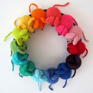 Mouse Wreath