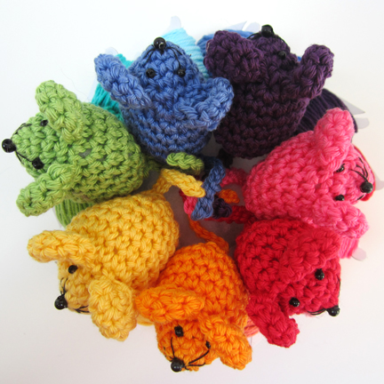 crochet Mini Mice