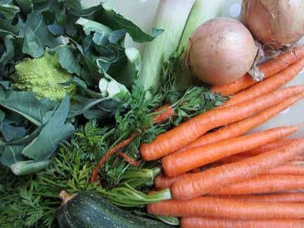 Veg from the Farmers Market