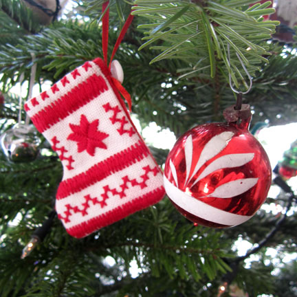 Christmas Stocking for Advent Dalendar Day Seventeen