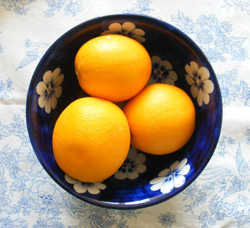 Oranges in bowl Advent Calendar Day Fifteen