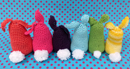 crochet bunny backs