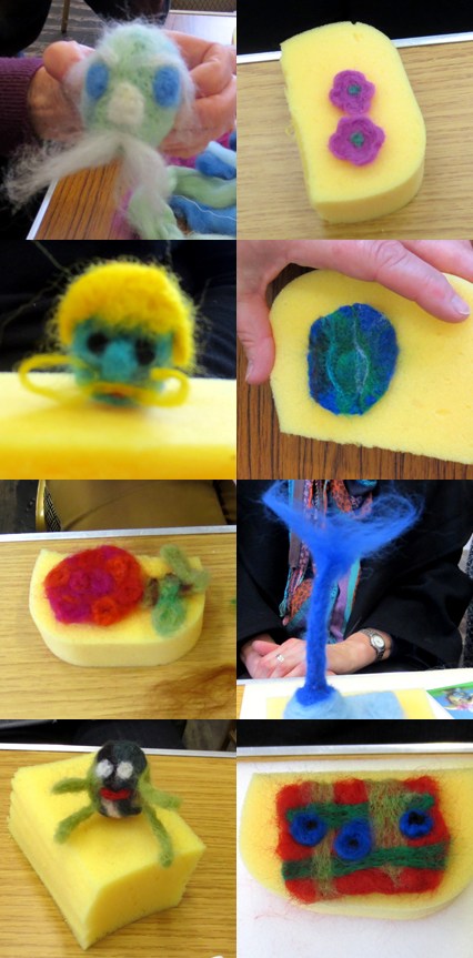beginners needlefelt