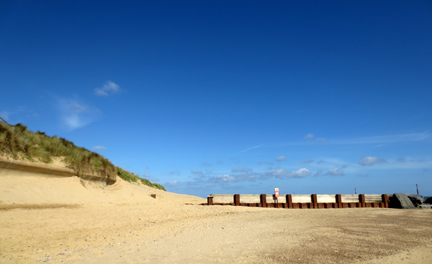 Norfolk beach