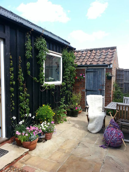 Norfolk and Norwich Open Studios - garden