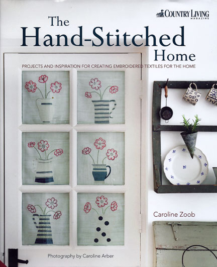 The Hand-Stitched Home - Cover