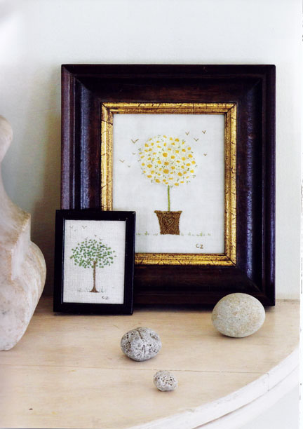 Daisy tree - The Hand-Stitched Home