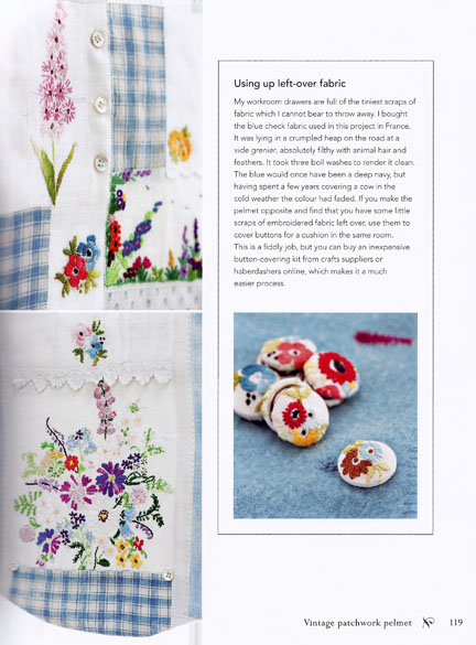 Vintage scraps - The Hand-Stitched Home