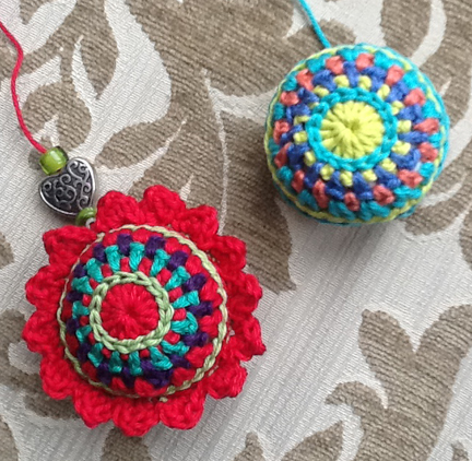 Crochet Christmas Bauble example