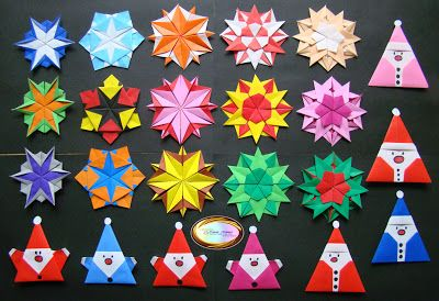 origami snowflakes Christmas Countdown Day 3