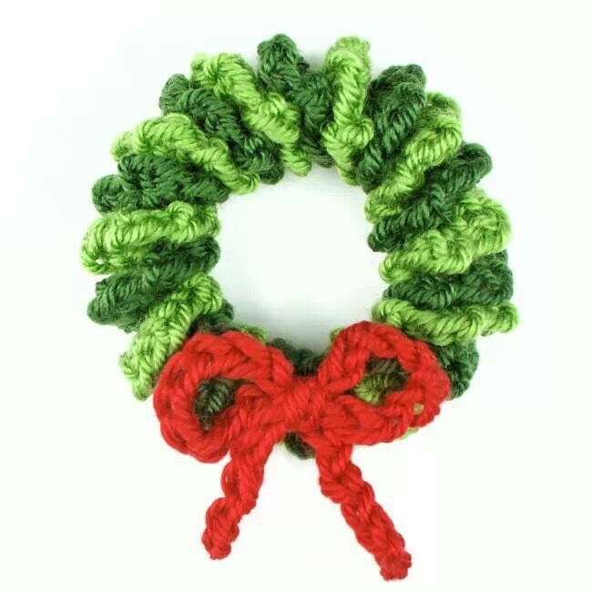 crochet mini ring Christmas countdown