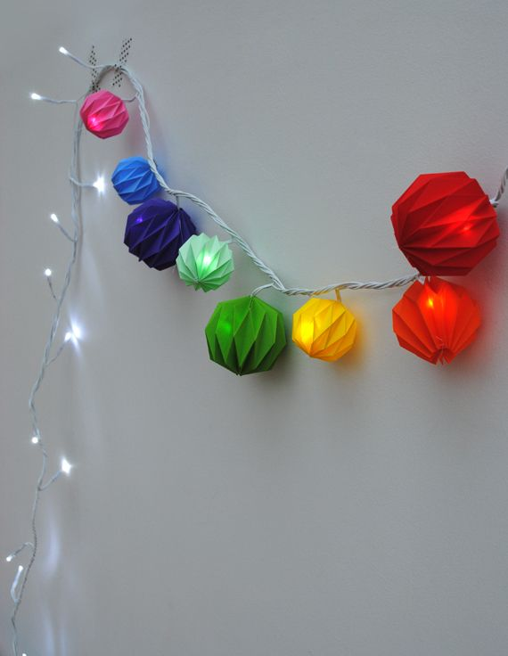 Origami Lights Christmas Countdown Day 3
