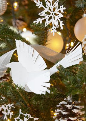 cut out bird Christmas Countdown
