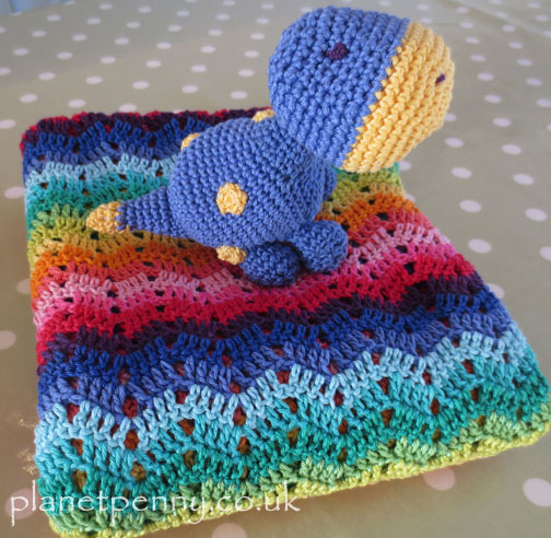 crochet diplodocus - Planet Penny Cotton