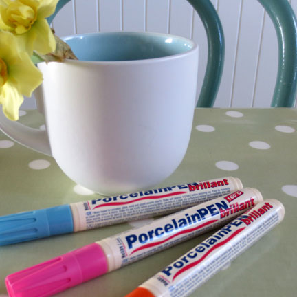 porcelain paints - Baker Ross
