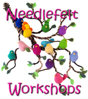 Needlefelt Workshops with Planet Penny