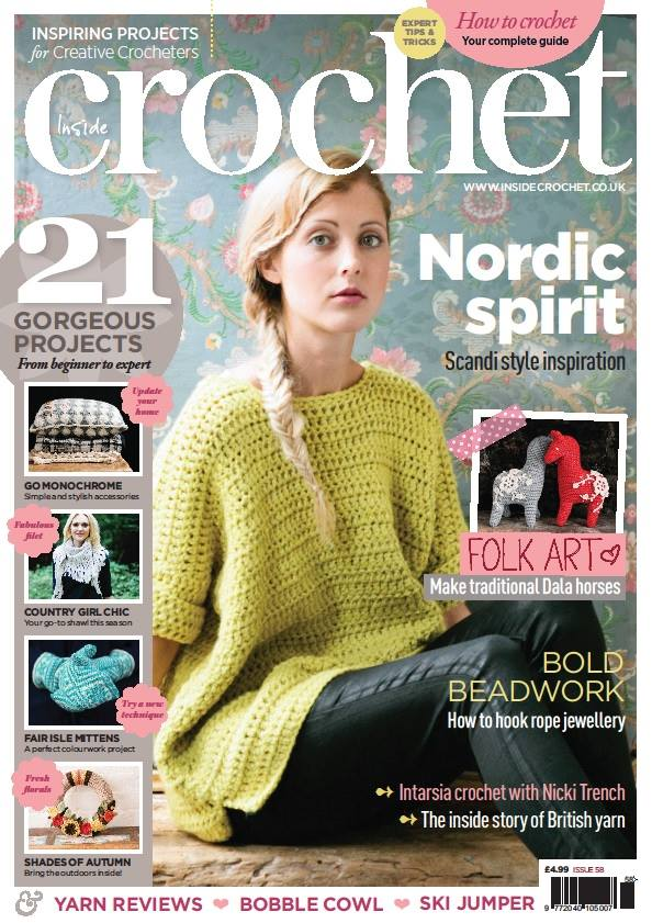 Learn How To Crochet Magazine : Inside Crochet Magazine - Crochet Entrepreneur