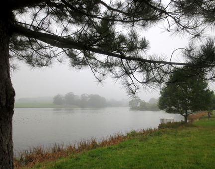 Lake at Holkham Hall