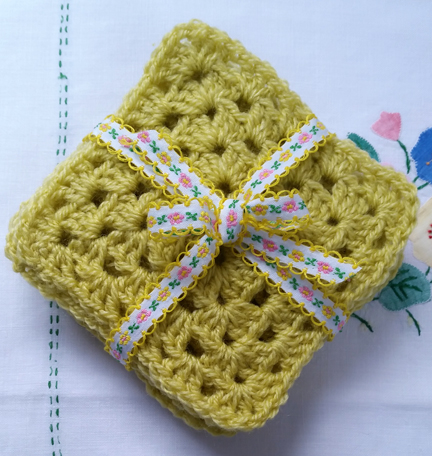Stylecraft Life 'Zing'  Squares for Happy Friday