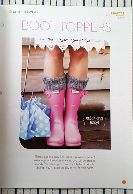 Simple Stylish Knitting Boot Toppers