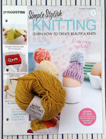 Simple Stylish Knitting Cover 3