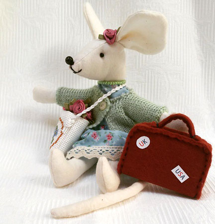 Miranda Mouse for Red Nose Day - Happy Friday