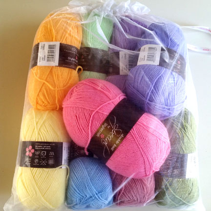 stylecraft spring colours