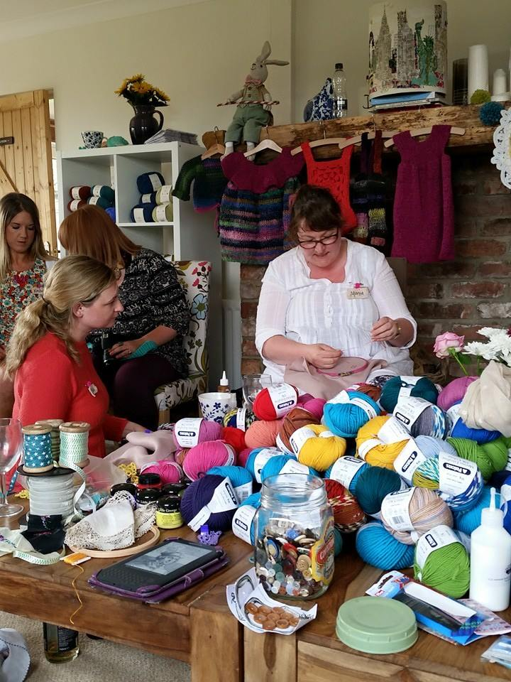 Marna Lunt - Crochet retreat with Frank & Olive
